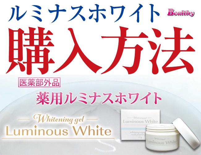 ルミナスホワイト 購入方法